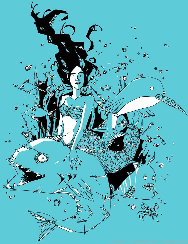 MermaidONECOLOUR